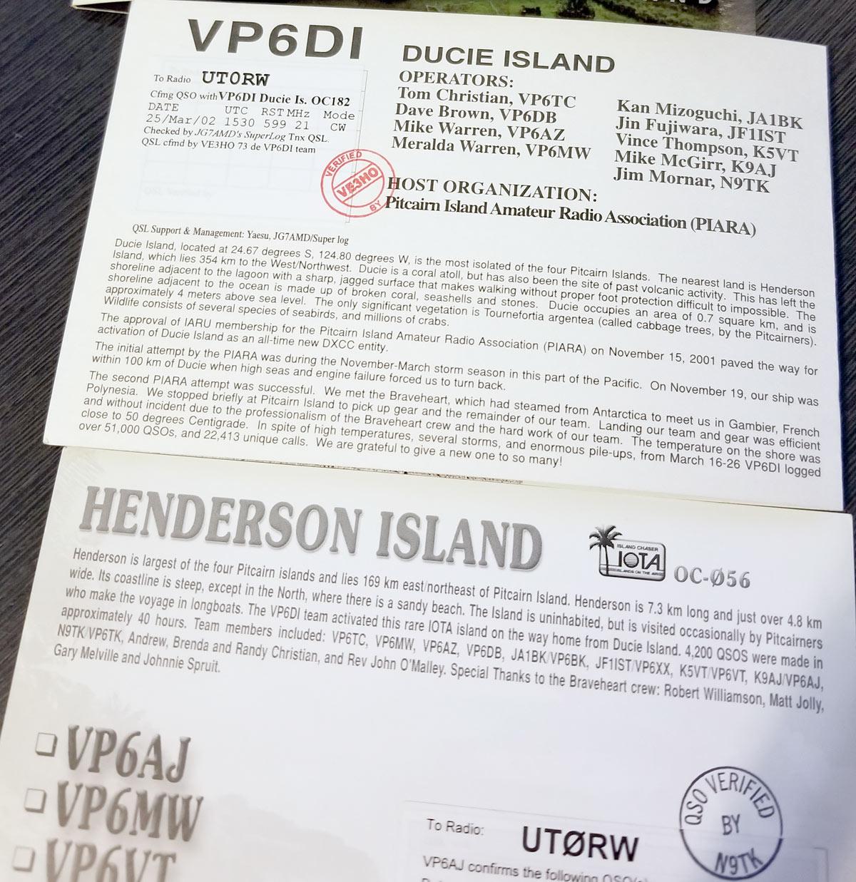 VP6 land